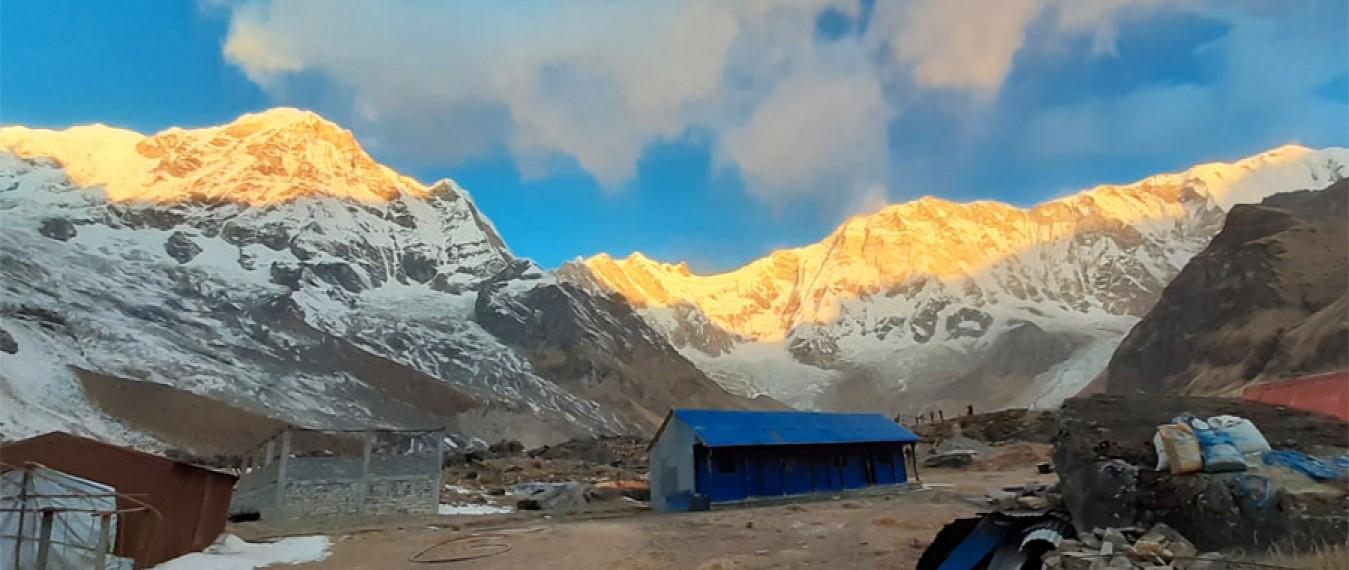 ABC verses Mardi Himal Trek