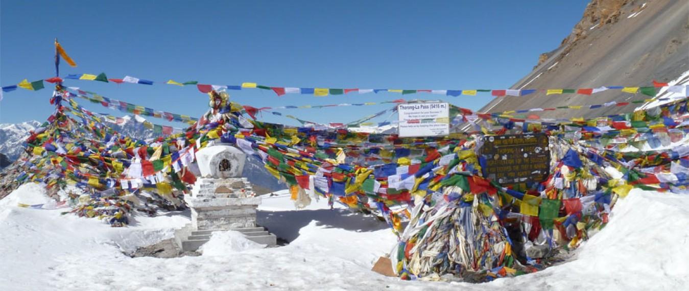 Annapurna Circuit Trek in miles