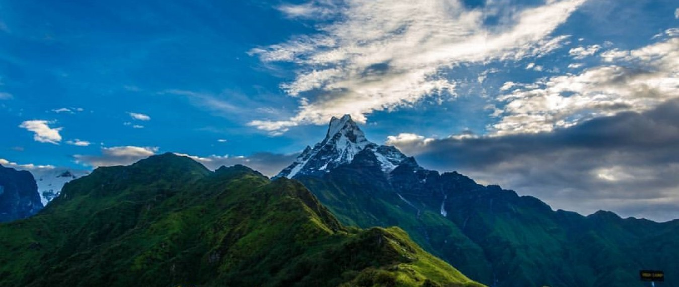 Mardi Himal Hiking Distance in km and miles