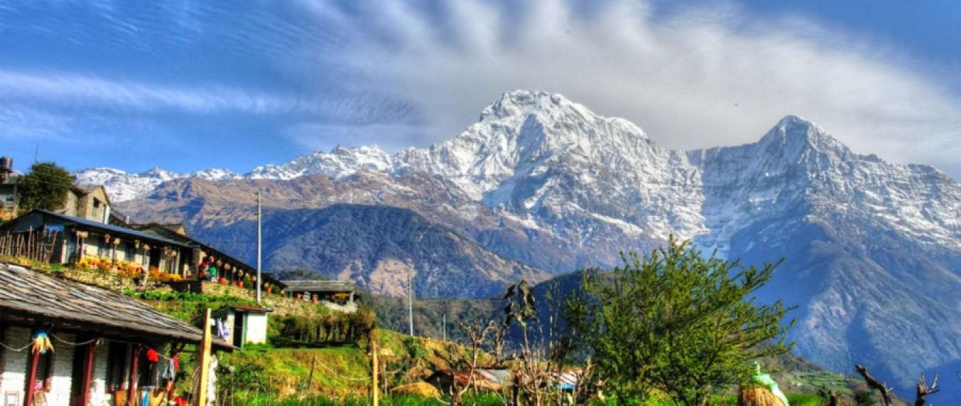 View from Ghandruk Village