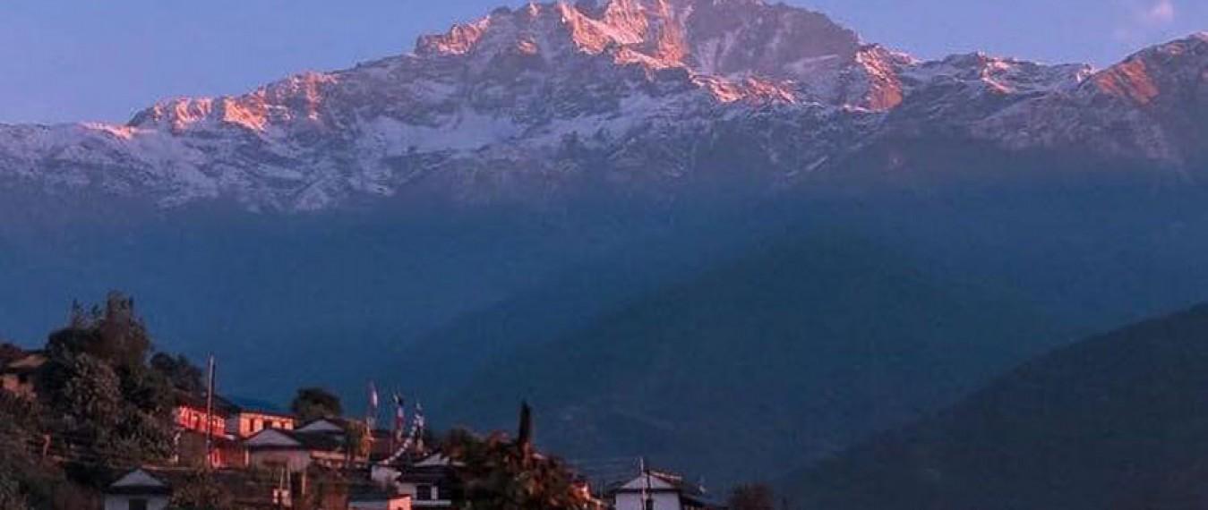 Lwang Village from Pokhara