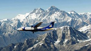 everest mountain flight is 1 hr flight to Mount Everest