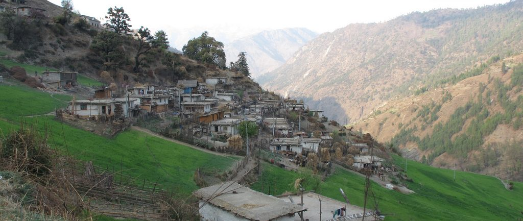 village-of-rara-lake-trekking