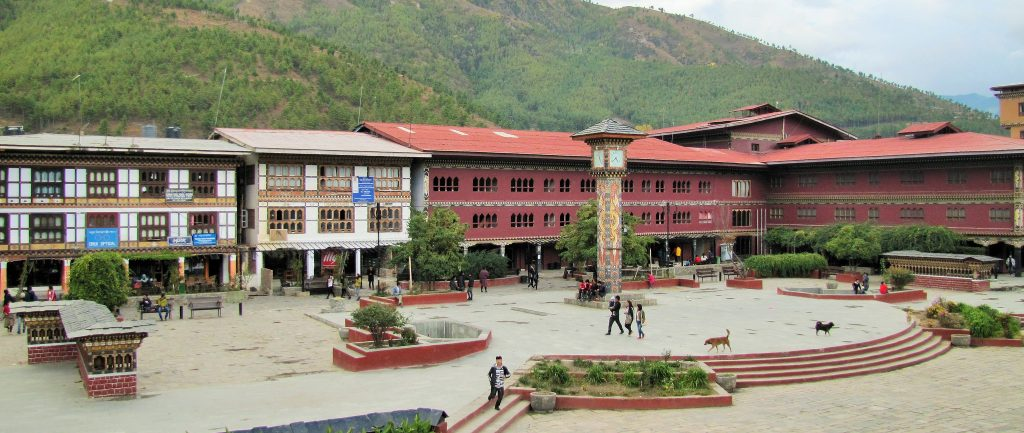 thimphu-clock-tower-square