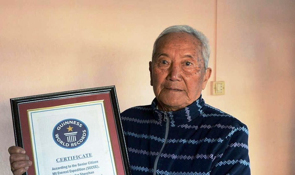Min Bahadur Sherchan, 85 years, dies trying to become the oldest man to climb Everest