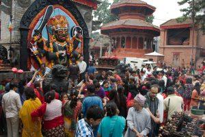 Kal Bhairab Temple in Hindu Pilgrimage Tour Nepal