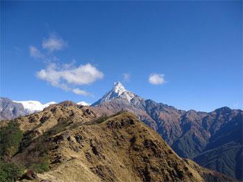 Mardi Himal Trek Distance