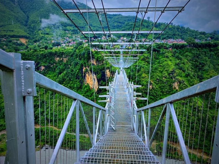Kushma Bungee Jump bridge