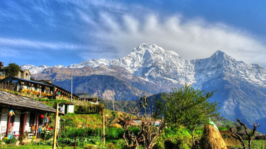 View from Ghandruk Village