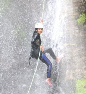 Canyoning in Pokhara