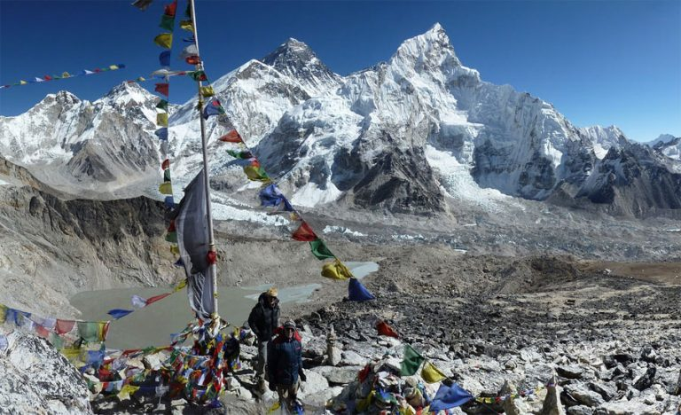 Trek to Kala Patthar with Everest Base Camp